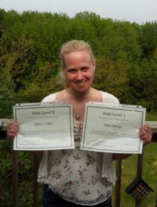 Congratulations to Debra for completing Reiki Level 2 today! Thank you for allowing me to be a part of your journey! She is going to do great things!!!!