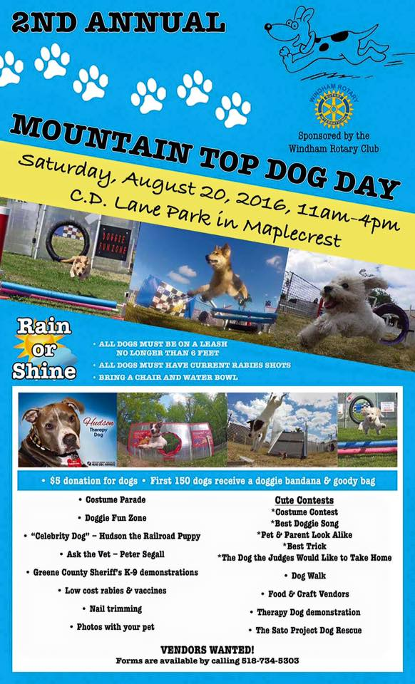 Mt Top Dog Day 2016