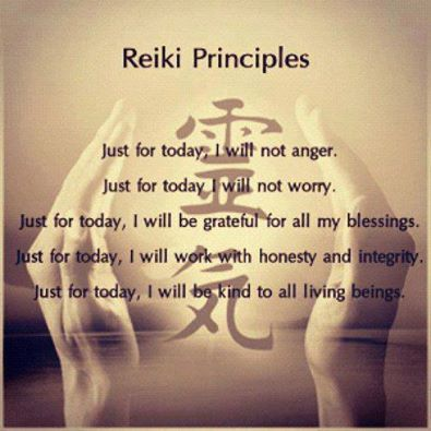 Reiki Priciples